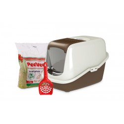 PeeWee litter box EcoHûs brown