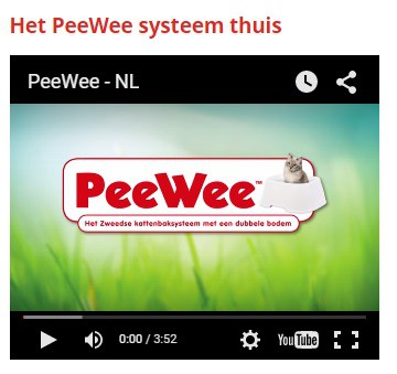 Bekijk de Peewee demo video