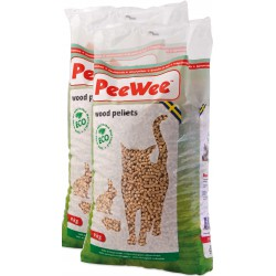 PeeWee wood pellets bag 14L (9 kg) 2 pieces box