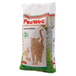 PeeWee wood pellets bag 14L (9 kg)