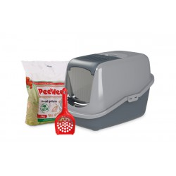 PeeWee litter box EcoHûs anth-grey
